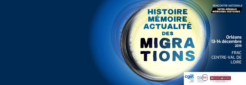 Histoire Mémoire Actualité des migrations 13-14 décembre 2019