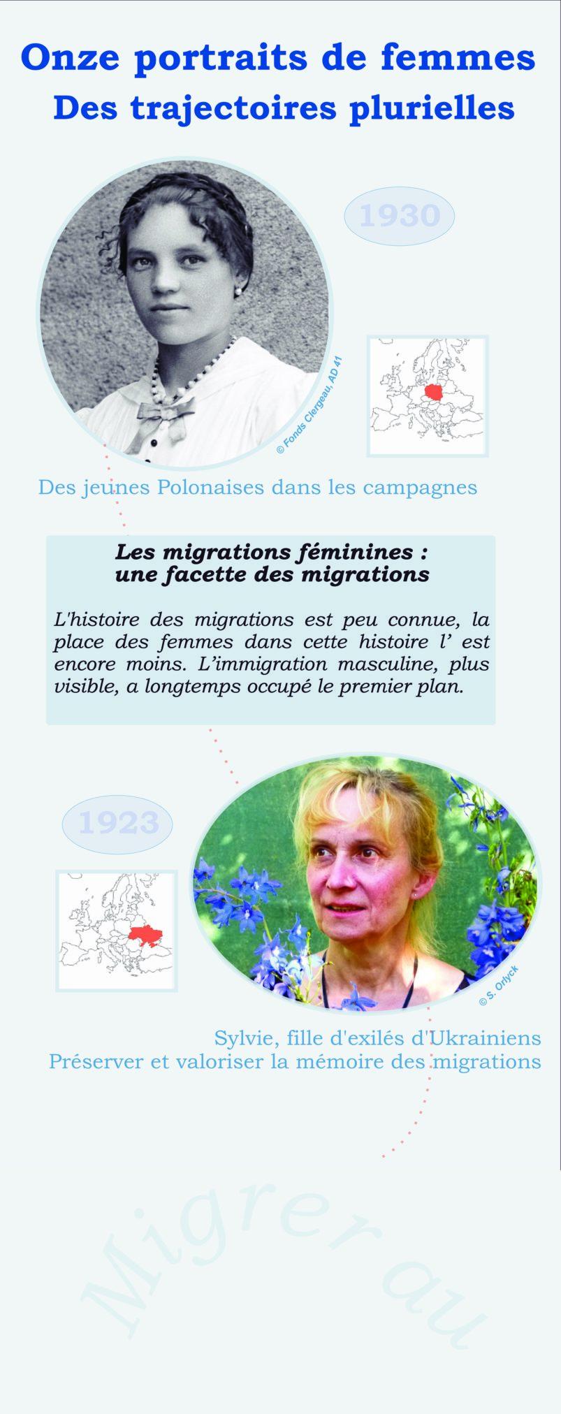 Exposition itinérante «Migrer au féminin, partir, rester, se souvenir»